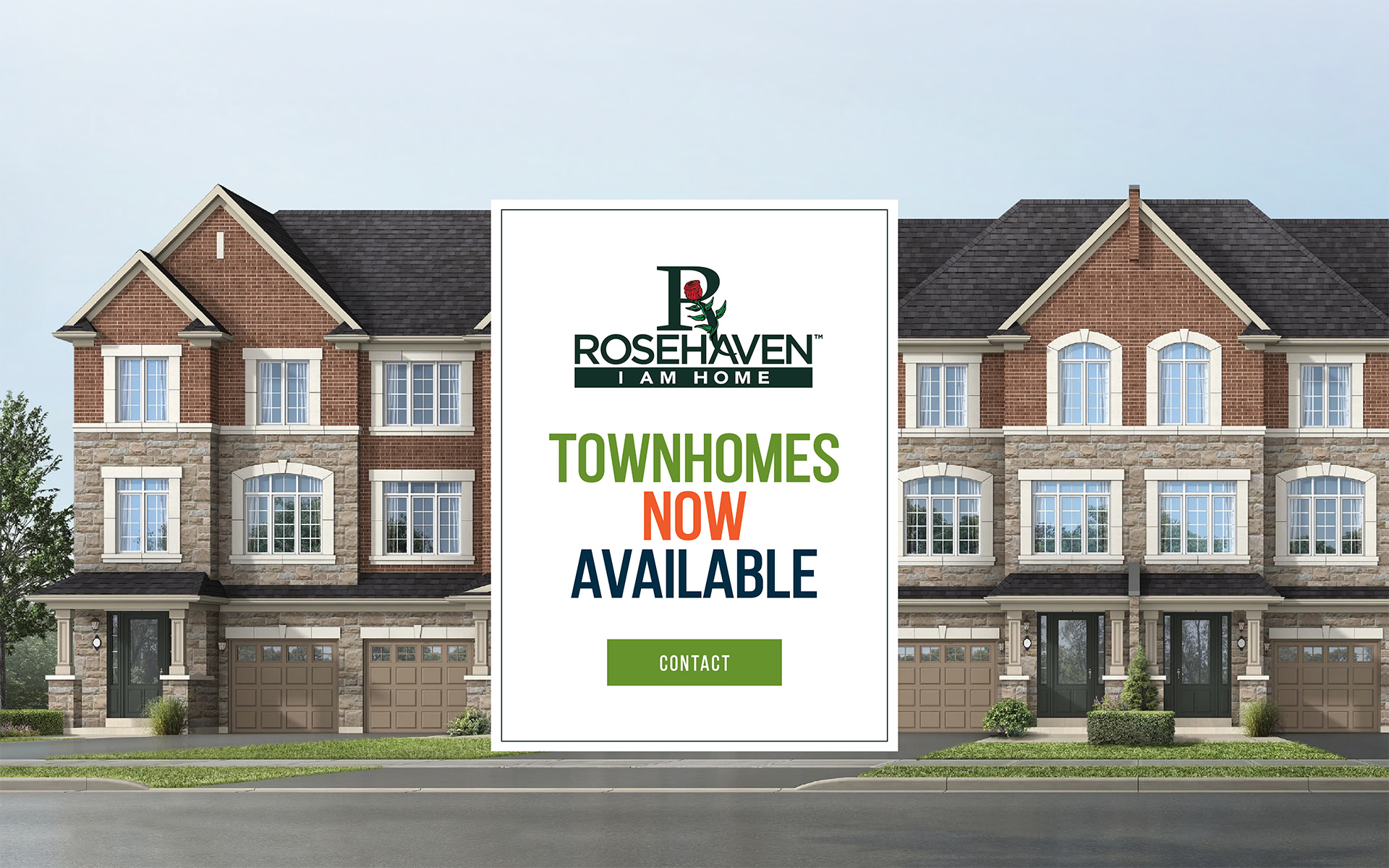 New Townhomes for Sale in Bradford